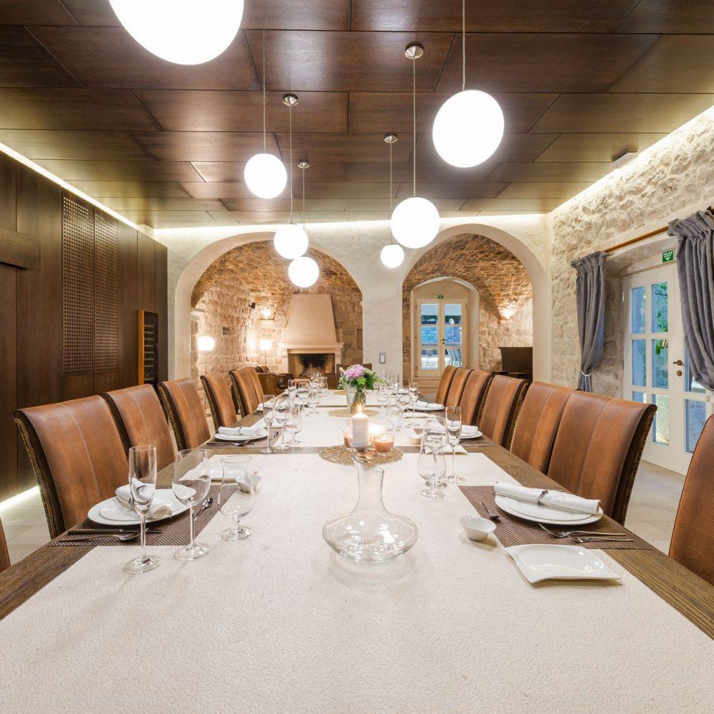Villa Pugliesi Dubrovnik Dining area (1)
