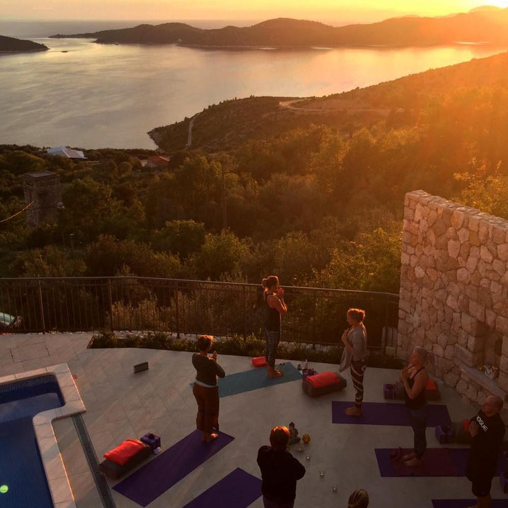 Private Dubrovnik yoga classes