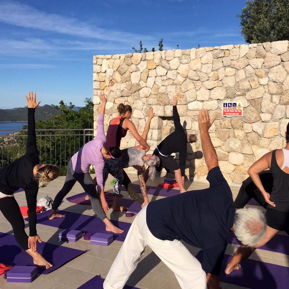 Dubrovnik Private yoga classes teacher