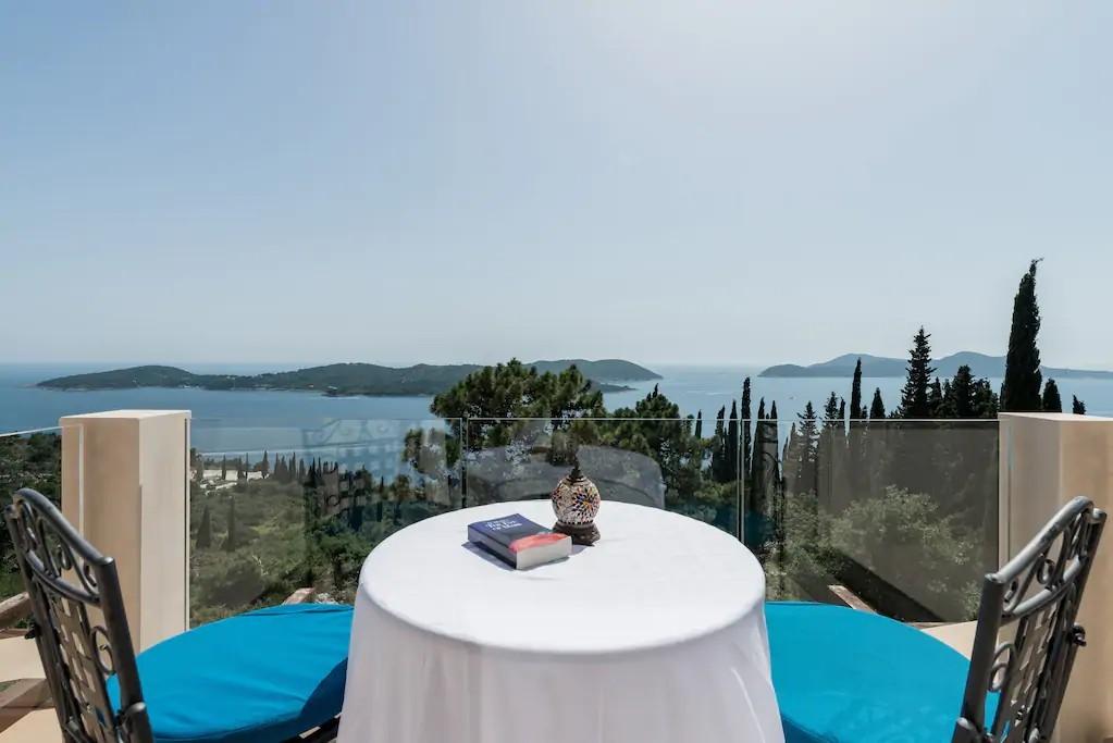 villa Dubrovnik sea view